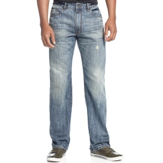 Rocawear Classic Fit Lifetime Jeans Vintage Blue Wash 38 Waist