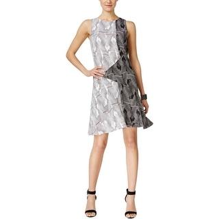 Vince Camuto Womens Wear to Work Dress Sleeveless Knee-Length