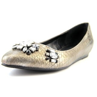Kenneth Cole Reaction Step Forward Women Round Toe Synthetic Gray Flats