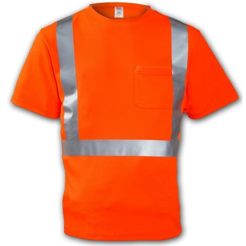 Tingley S75029-MD High Visibility Short Sleeve TâShirt, Medium, Orange