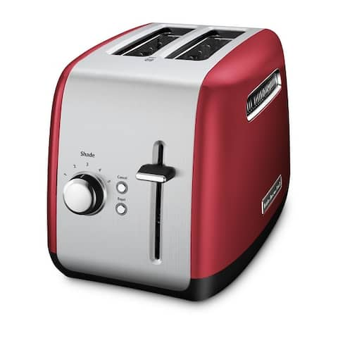 KitchenAid 2-Slice Toaster with manual lift lever, KMT2115