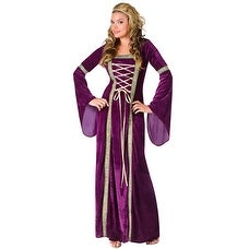 Renaissance Lady Womens Royal Halloween Costume