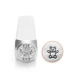 Teddy Bear Impress Art Punch Stamp for Metal 1/4 6mm (1)