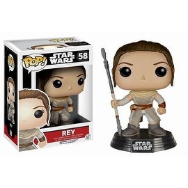 Funko POP Star Wars The Force Awakens Rey Vinyl Figure