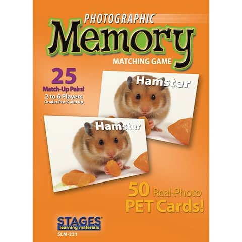 Pets Photographic Memory Matching