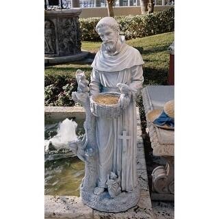 Design Toscano Nature's Nurturer, St. Francis Sculpture: Large