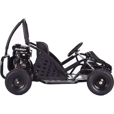 MotoTec Black 79cc Off Road Go Kart