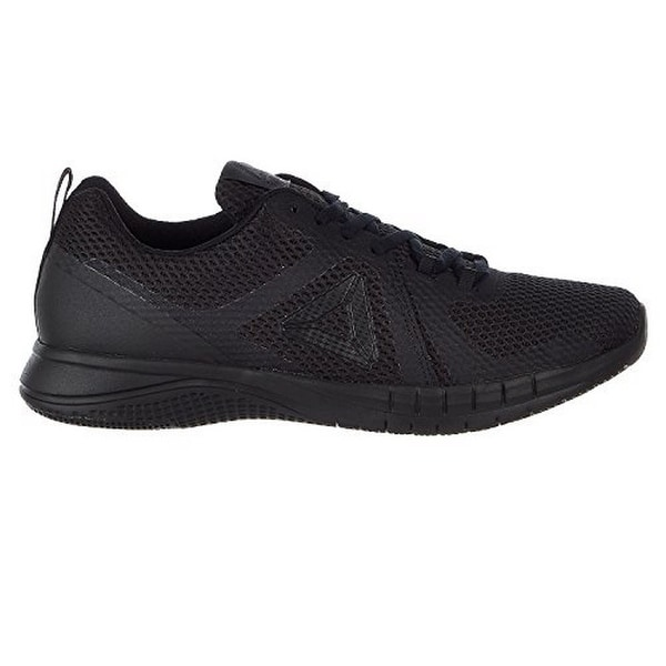 on sale f9bab 642b1 Reebok Mens Print Run 2.0, Black/Coal