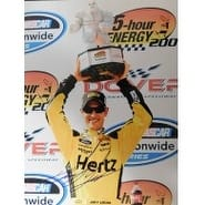 Signed Logano Joey 11x14 Photo autographed