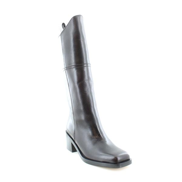 CHANEL Defile G30170X31237 Women's Boots Dark Brown - 6.5