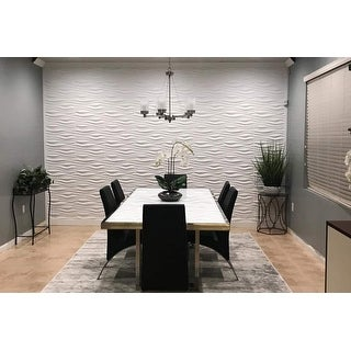Link to Art3d 3D Wall Panels PVC Wave Design IV (32 Sq.Ft) Similar Items in Wall Coverings