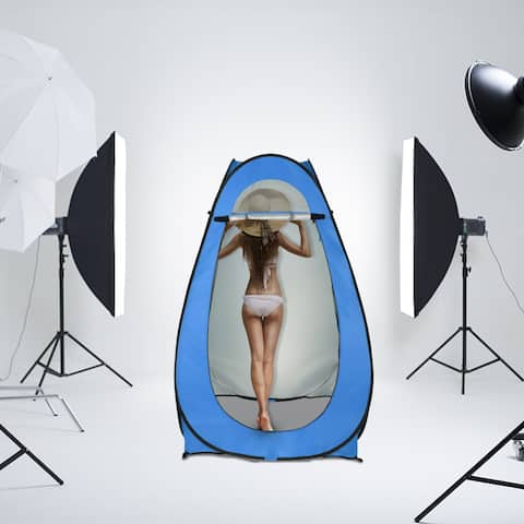 1-2 Person Portable Pop Up Toilet Shower Tent Changing Room Dressing