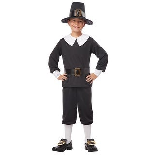 Boys Pilgrim Colonial Halloween Costume