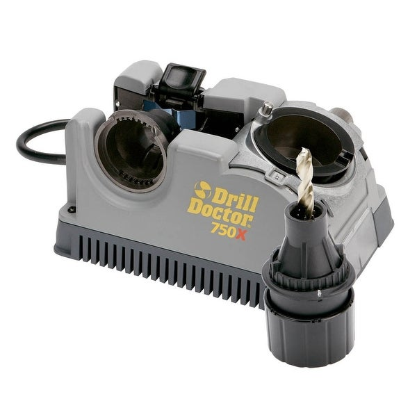 "Drill Doctor DD750X Drill Bit Sharpener, Sharpens 3/32""-3/4"""