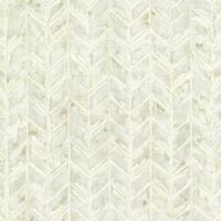 Brewster HZN43062 Foothills Cream Herringbone Texture Wallpaper - N/A