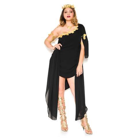 Plus Size Enchanting Goddess Costume - As Shown