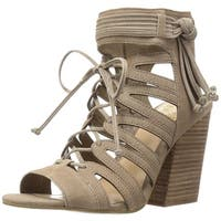 Vince Camuto Womens Ranata Leather Round Toe Casual Strappy Sandals