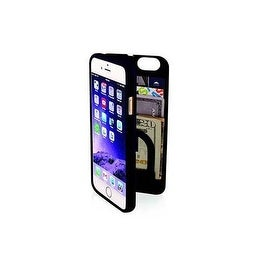 eyn protective case with storage for iPhone 6 (Option: Polycarbonate)