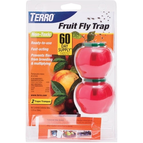 Terro T2502 Fruit Fly Trap, 1.0 Oz