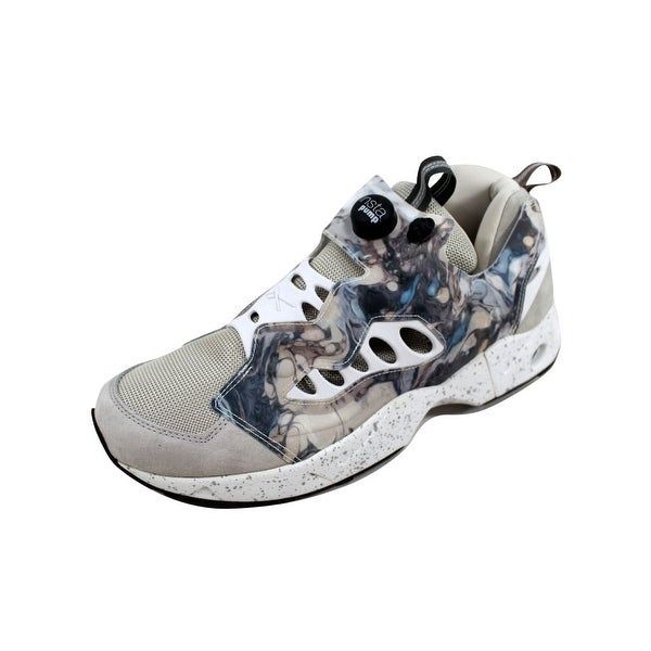 Reebok Men's Garbstore Instapump Fury Road Blue/Grey-White V65978