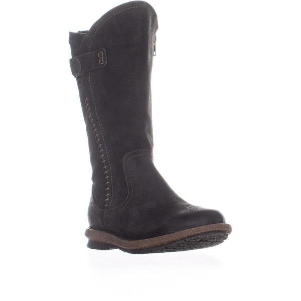 Born Tonic Mid Calf Boots, Dark Gray