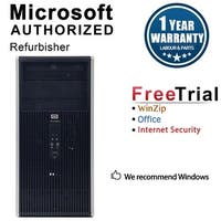 HP DC5800 Computer Tower Intel Core 2 Duo E8400 3.0G 4GB DDR2 160G Windows 7 Pro 1 Year Warranty (Refurbished) - Silver
