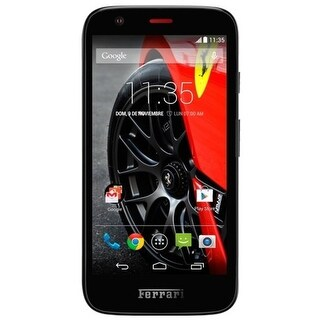 Motorola G 1st Generation Ferrari XT1003 8GB Unlocked GSM Android Phone w/ 5MP Camera - Black