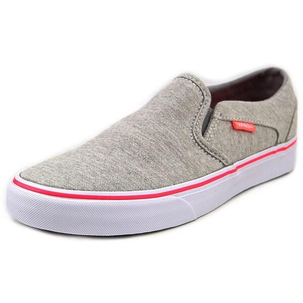 Vans Asher (Jersey) Grey Sneakers Shoes