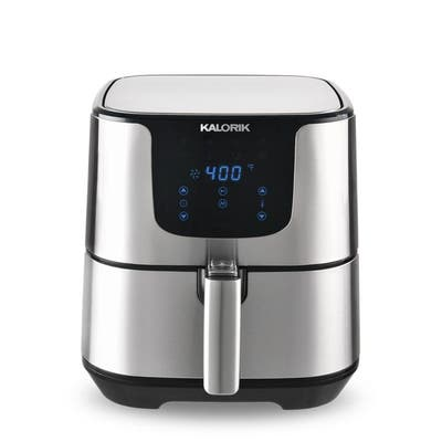 KALORIK 3.5 QT Digital Air Fryer Pro, Stainless Steel Refurbished