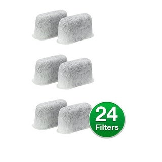 Replacement Charcoal Water Filter For Cuisinart CHW-12 Coffee Machines (4 Pack)