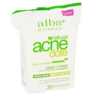Alba Botanica Acnedote Clean Treat Towel 30-count