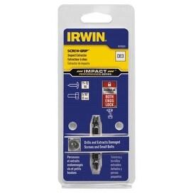 Irwin 1876223 Impact SCREW-GRIP Double-Ended Screw Extractors, Size 3