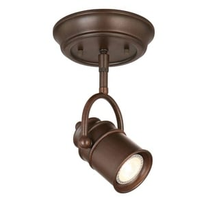 "Design House 578047 Sheridan Single Light 6"" Wide LED Accent Light Ceiling Fixture"