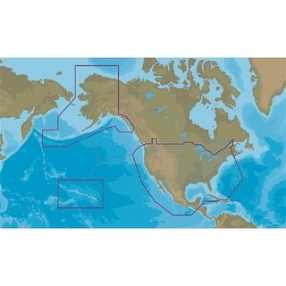 Lowrance 000-13732-001 C - MAP Insight Pro , Inland & Coastal Waters For US