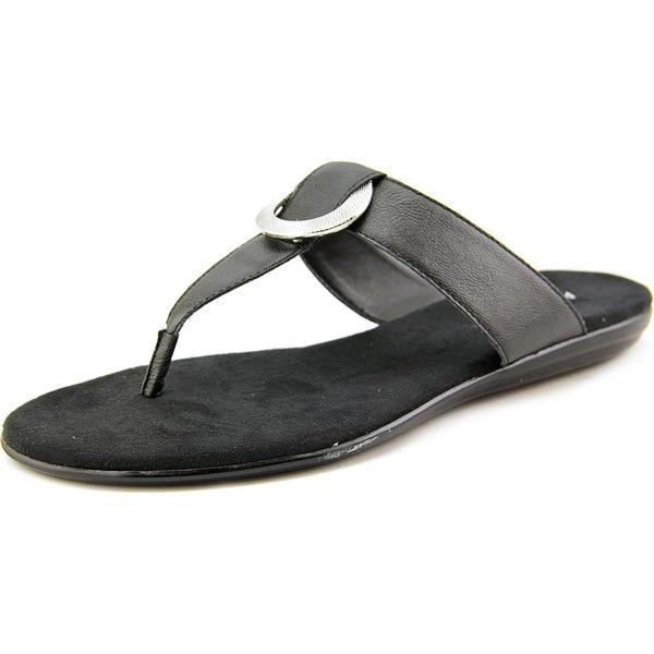 Aerosoles Supper Chlub Women Black Sandals