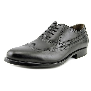 Johnston & Murphy Duvall Men  Wingtip Toe Leather Black Oxford