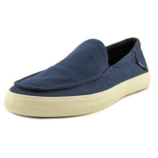 Vans Bali SF Men Round Toe Canvas Blue Loafer
