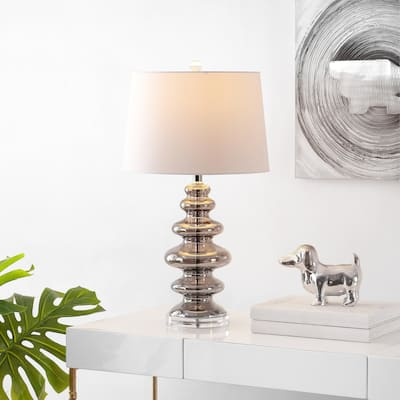 "SAFAVIEH Lighting Orien 27-inch LED Table Lamp - 15"" W x 15"" L x 27"" H"
