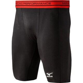 Mizuno Youth Comp Compression Shorts (Option: Black)