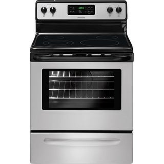 "Frigidaire FFEF3018LS 30"" Freestanding Electric Range with Large Capacity Oven - Stainless Steel"