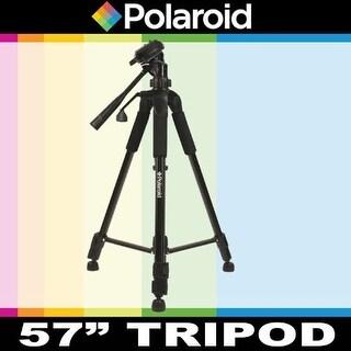 Polaroid 57 inch Camera Tripod w Deluxe Carrying Case