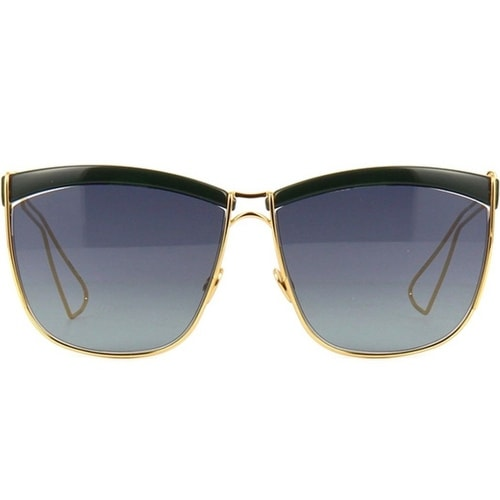 954ddfefa0 Shop Dior So Electric Women s Sunglasses (Black and Gold Frame Gray Lenses)  - Free Shipping Today - Overstock - 19458348