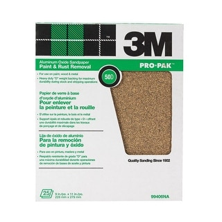 3M 99406NA Production Paper Sheets 9''X11'' - 50D Grit