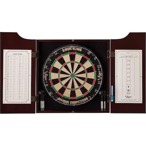 Viper Hudson Cabinet & Bristle Dartboard Bundle Value Set