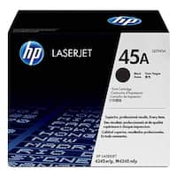 HP 45A Black Original LaserJet Toner Cartridge (Q5945A)(Single Pack)