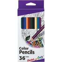 Pentel Color Pencils 35/Pkg-Assorted Colors