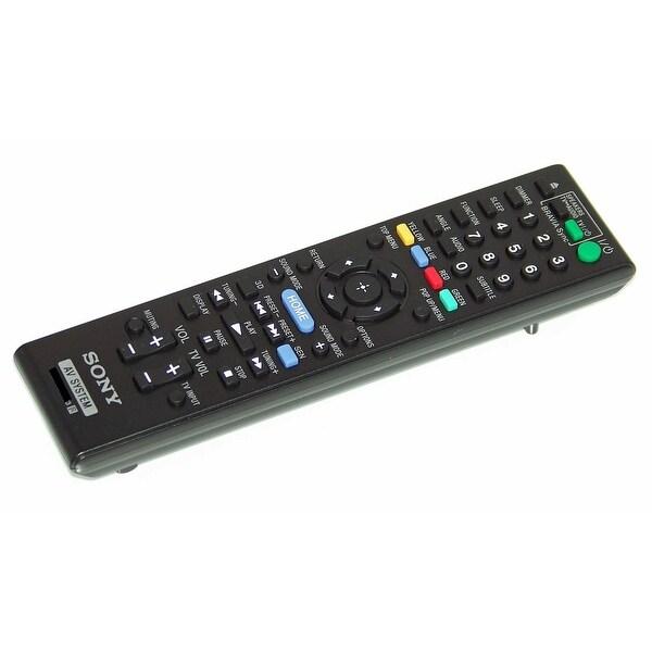 OEM Sony Remote Control Originally Shipped With: BDVE190, BDV-E190, HBDE190, HBD-E190, BDVE490, BDV-E490