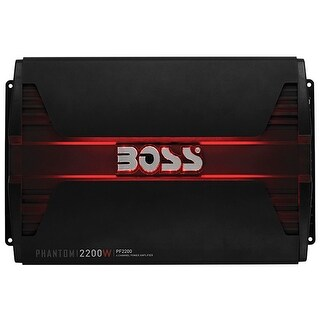 Boss Phanthom 4 Channel 2200 Watts Amp
