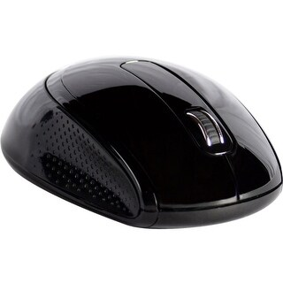Goldtouch GTM-100W Goldtouch Wireless Ambidextrous Mouse Black Via Ergoguys - Optical - Wireless - Radio Frequency - Black -