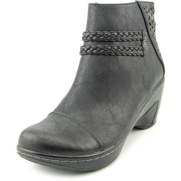 JBU by Jambu Cabernet Round Toe Synthetic Ankle Boot